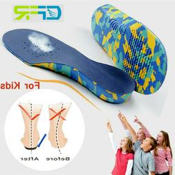 Kids Children Orthotic Shoes Insoles Orthopedic Flat Feet Ar