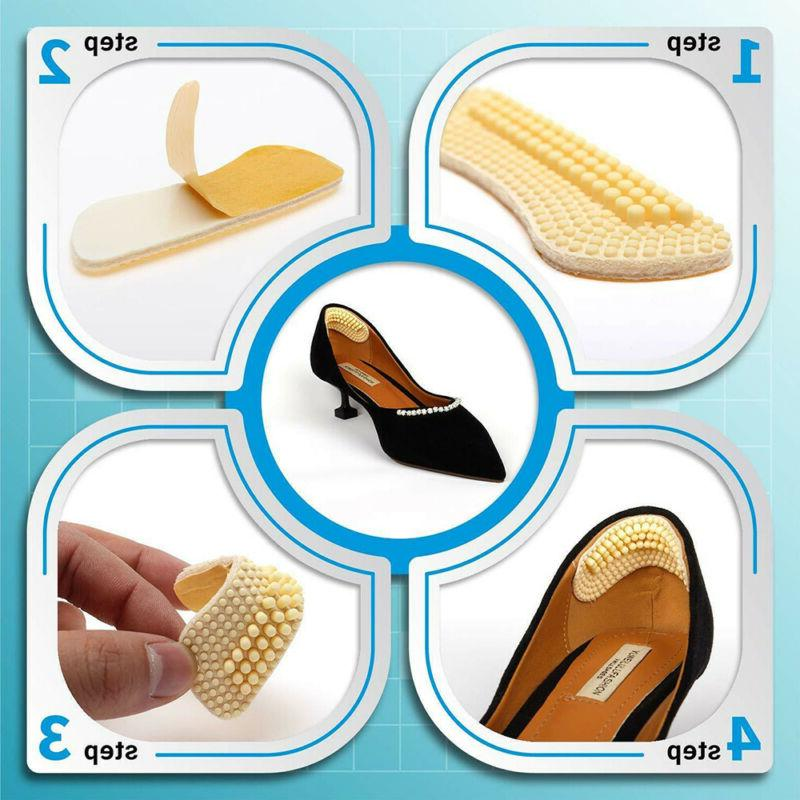 1 Heel Grip Insoles Pads Cushion Liner Grips Stickers