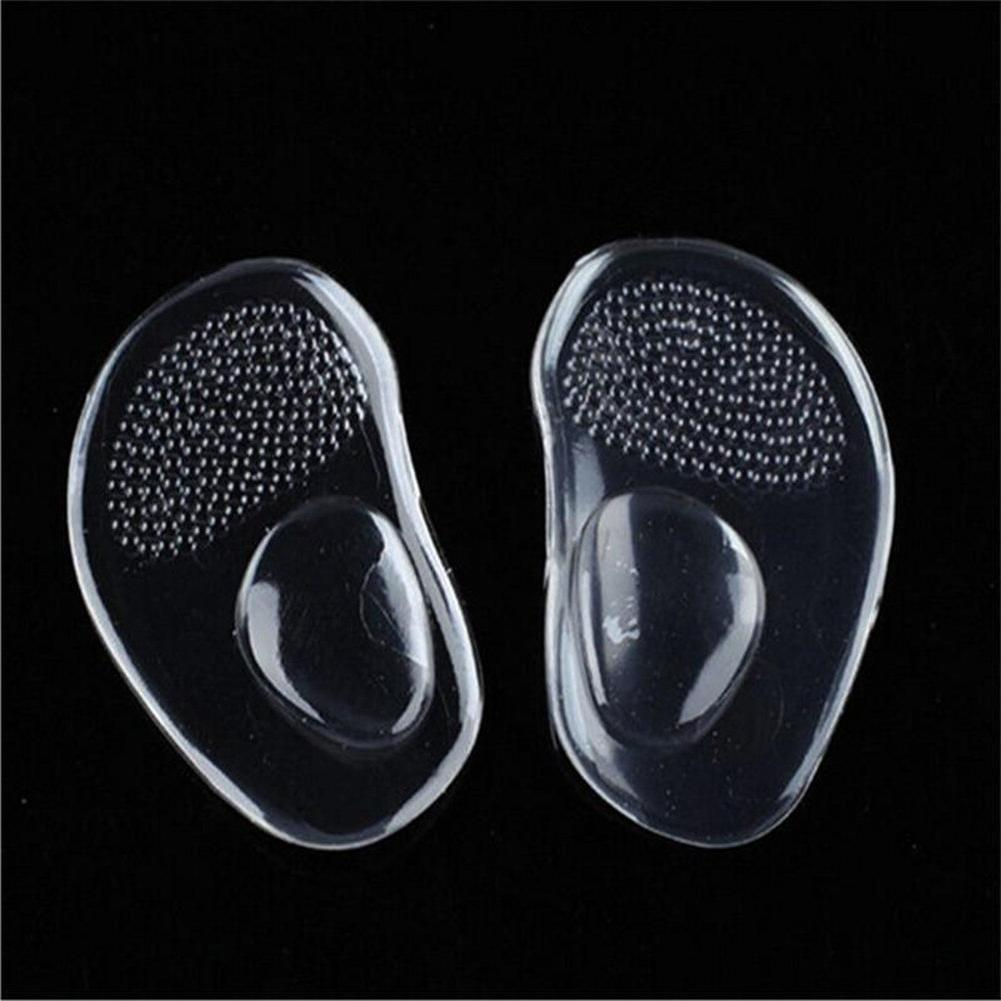 1Pair High Heel Front Forefoot Pads Silicone Care