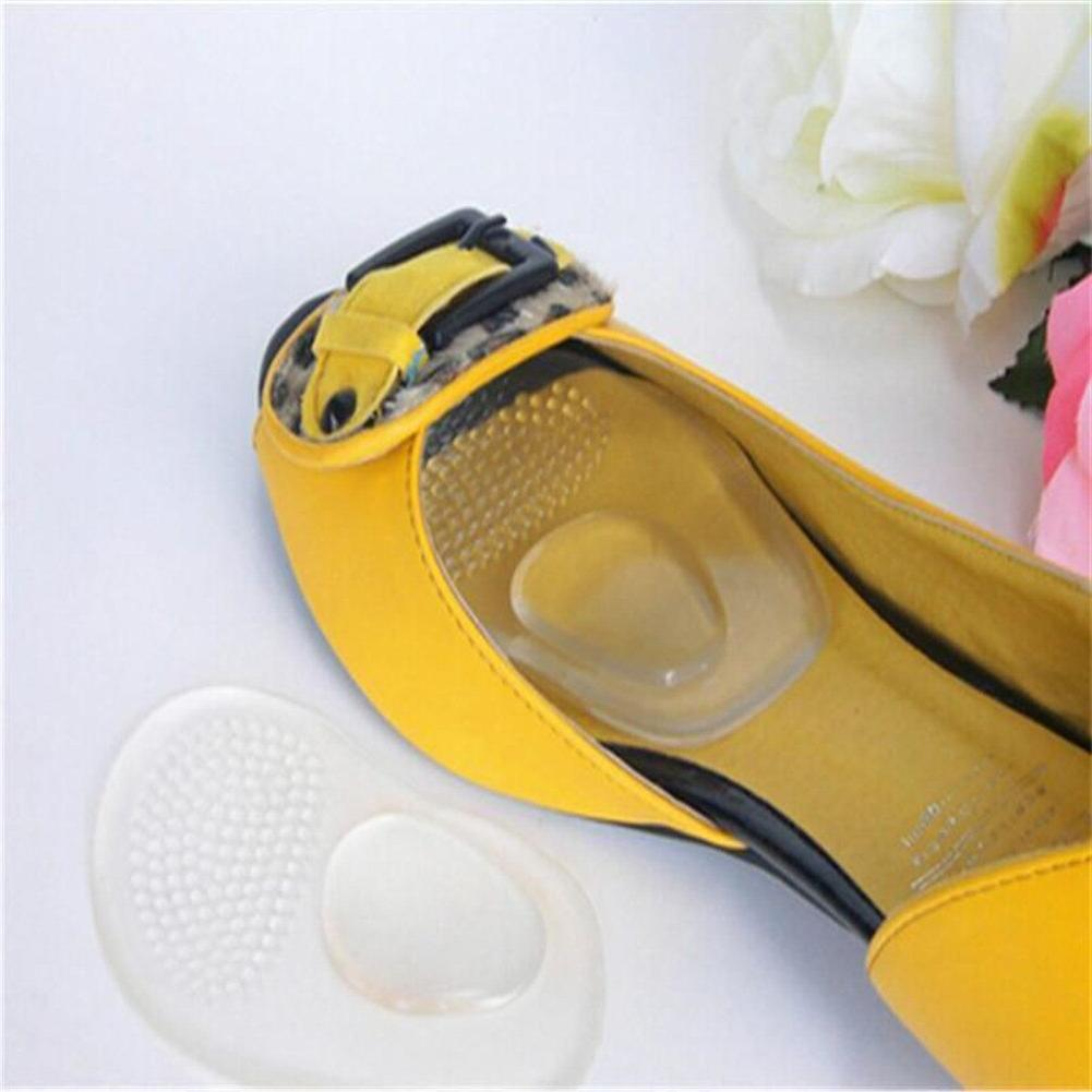1Pair <font><b>Shoes</b></font> Front Silicone Care Forefoot