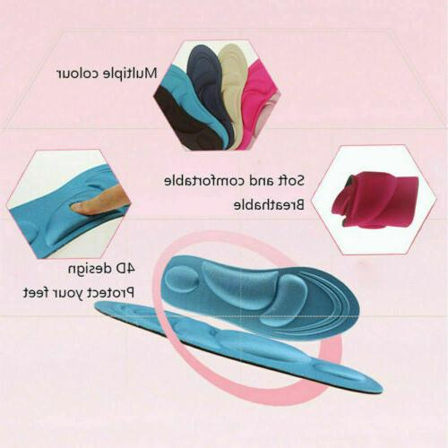 Women Insoles Foam Flat Feet USA yb