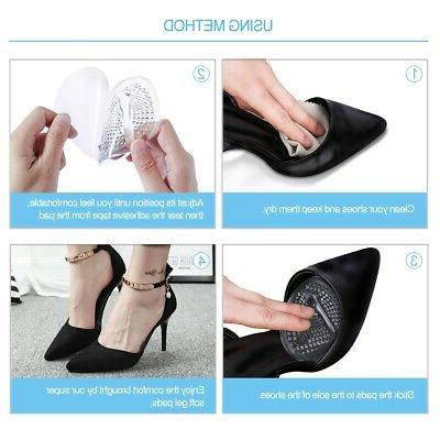 2 Pairs Metatarsal Forefoot Pads of Foot Inserts