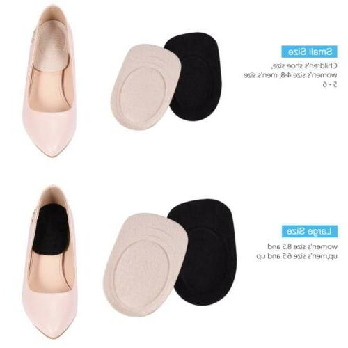 2Pairs Gel Cups Pads Insole Foot Insert