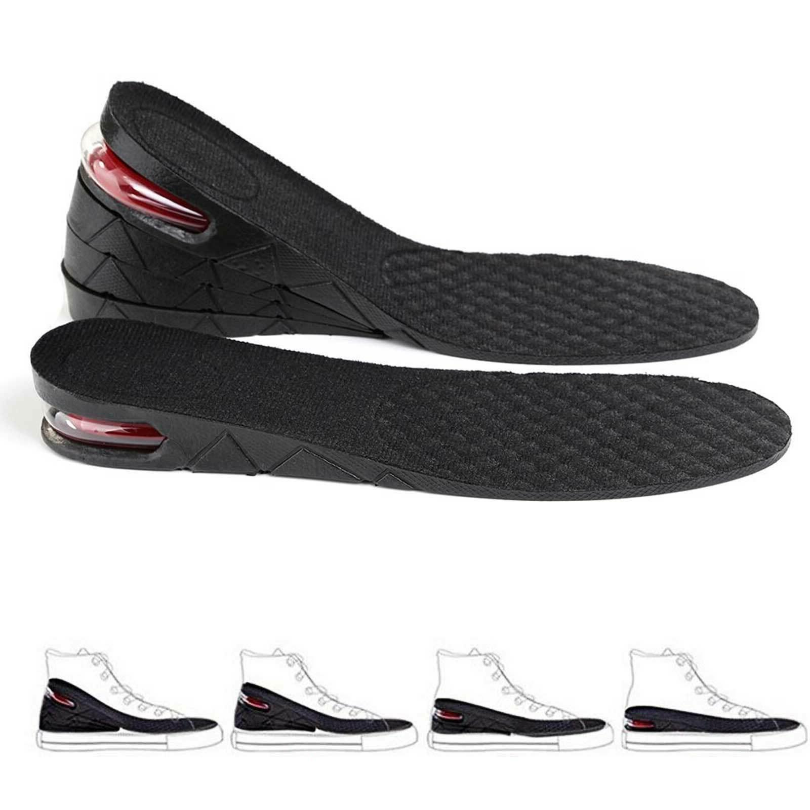 3 5 7cm men air cushion heel