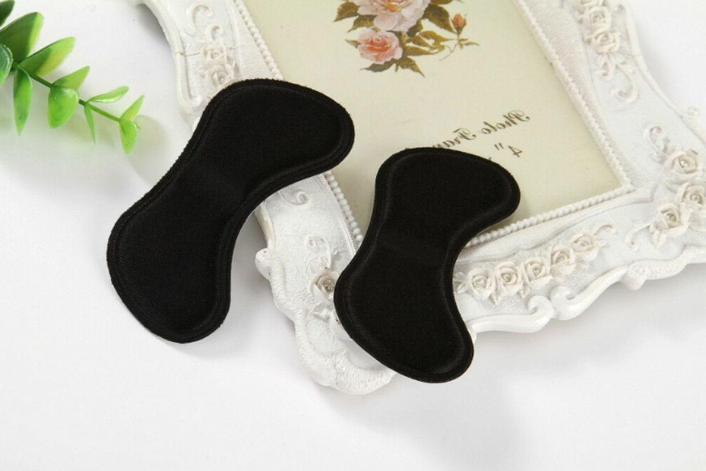 4 Shoe Pads Cushion Grip Back Heel Insoles