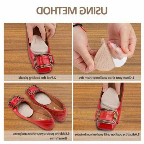 4Pair -Ball Non Slip Forefoot Pads
