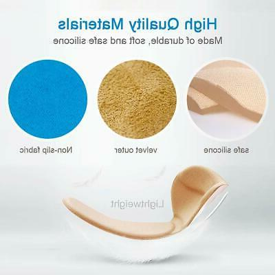 5 Inserts Heel Flat Shoes or High Hee...
