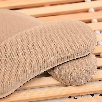 5 Pairs Foot Care Heel Grips Liner Fabric Shoe Insole Insert