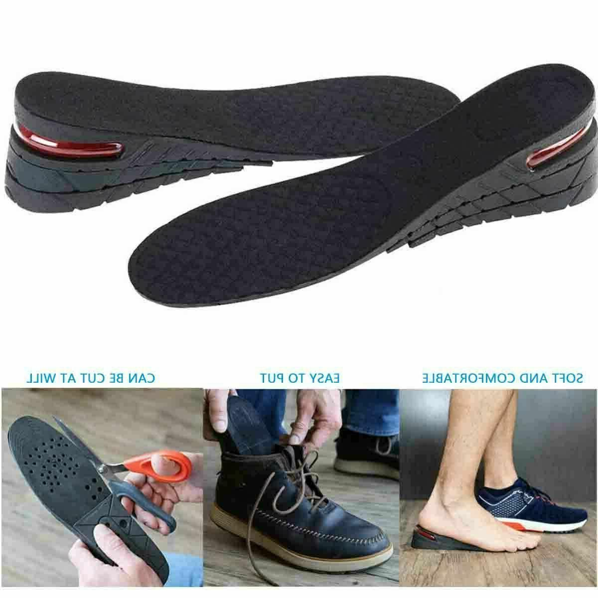 7cm Insole Air insert Increase Height 3-Layer