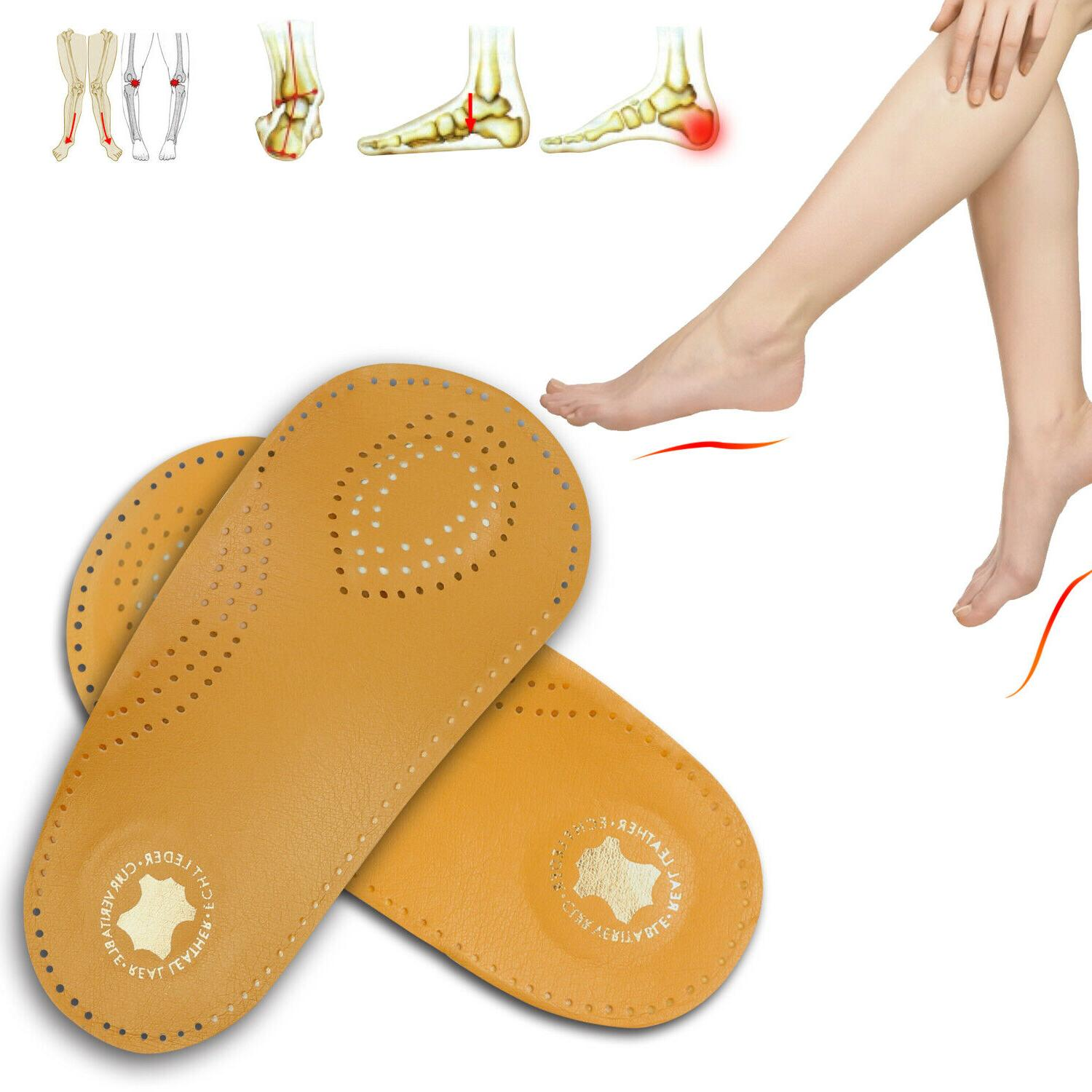 Arch Support Orthotic Insoles Flat Feet