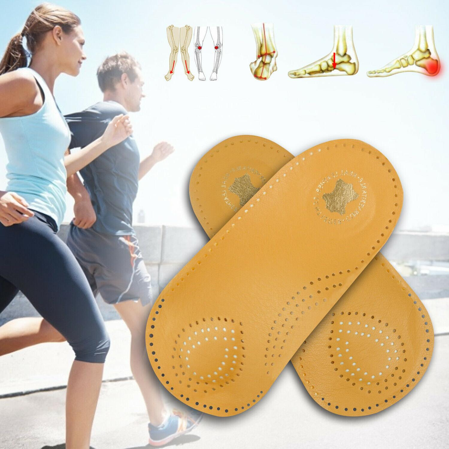 Arch Support Orthotic Insoles Inserts Fasciitis Flat
