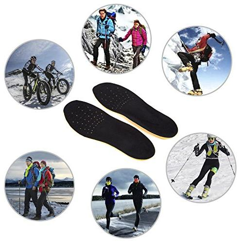 WOBAOS Full Length Comfort Arch Shoe Insole/Insert