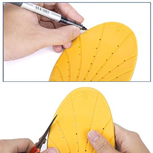 WOBAOS Comfort Arch Replacement Shoe Insole/Insert