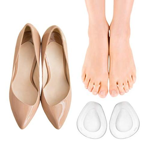 Ball of Foot Cushion for - Soft Insoles Pad Foot Pain Forefoot Cushioning