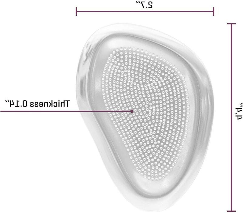 Ball Of Shoe Inserts Metatarsal Pads For High (4