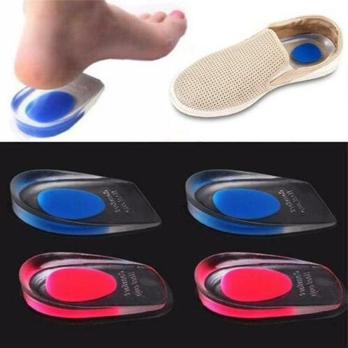 cushion heel cup insoles massager inserts heel
