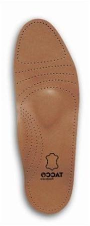 Tacco Women's Full Length Deluxe Leather Orthotic Insole - S