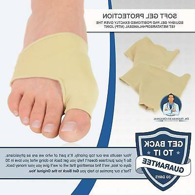 Dr. Frederick's Gel Pad Bunion Sleeves - 2 Booties for Relief