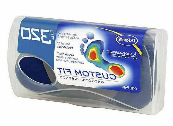 Dr. Custom Fit Orthotic Shoe Back Relief