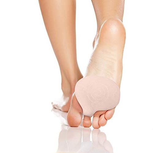 Best for Women - Metatarsal Ball Gel Shoe Support Relief. Silicone for Pressure Relief