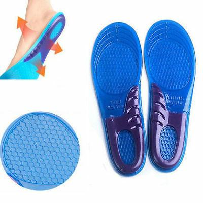 gel arch support insoles soft sole adjust