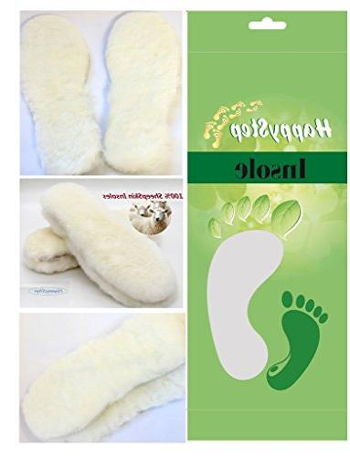 genuine sheepskin insoles