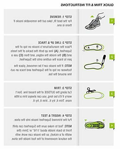 Superfeet Insoles EASYFIT Insoles Inserts
