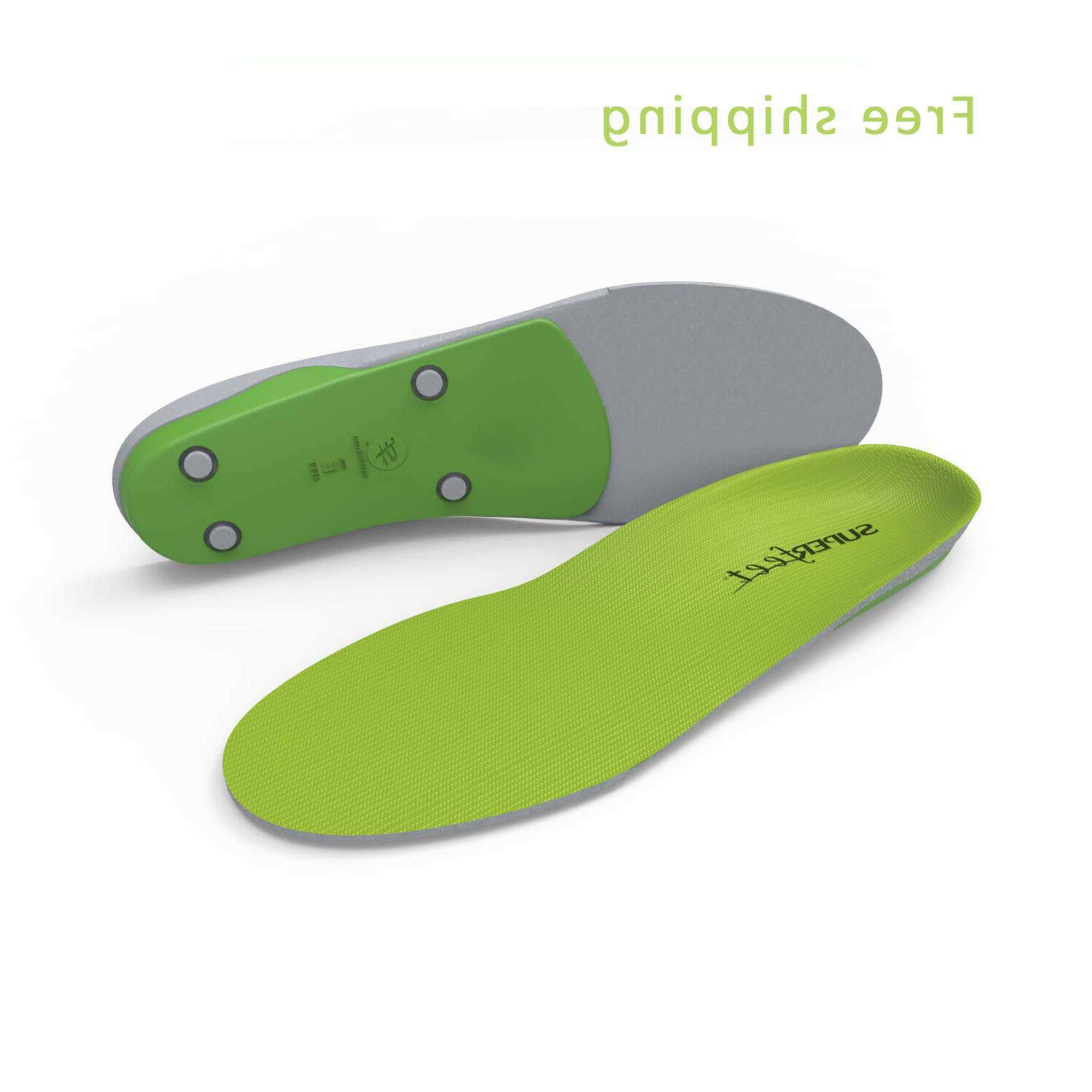 green insoles easyfit insoles arch support shoe