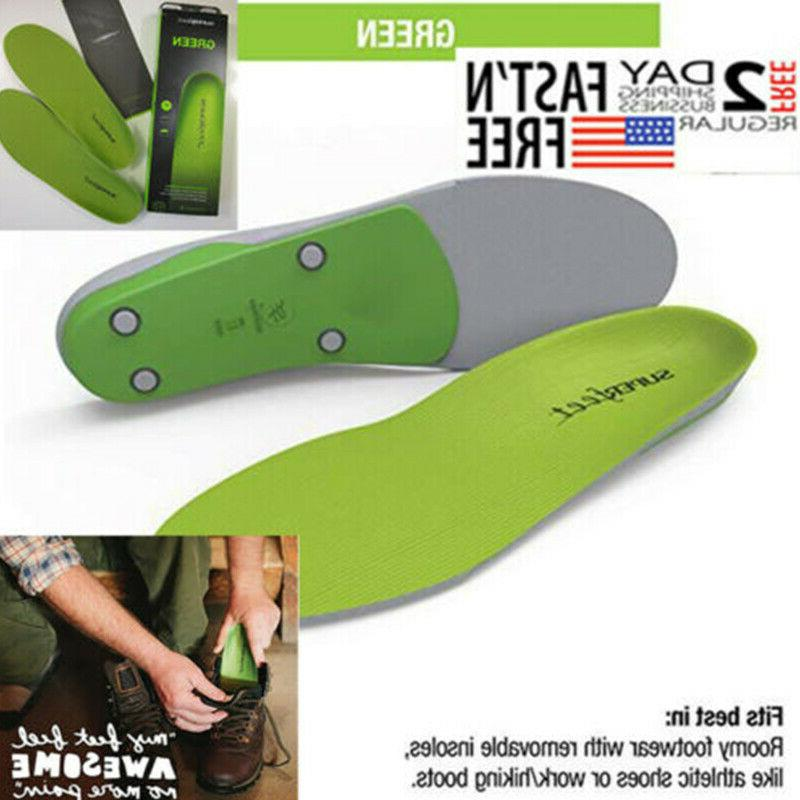 green insoles professional high arch orthotic insert