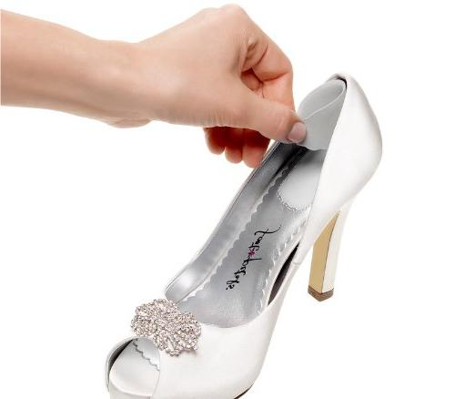 Foot Cushions-Silver Rose-1