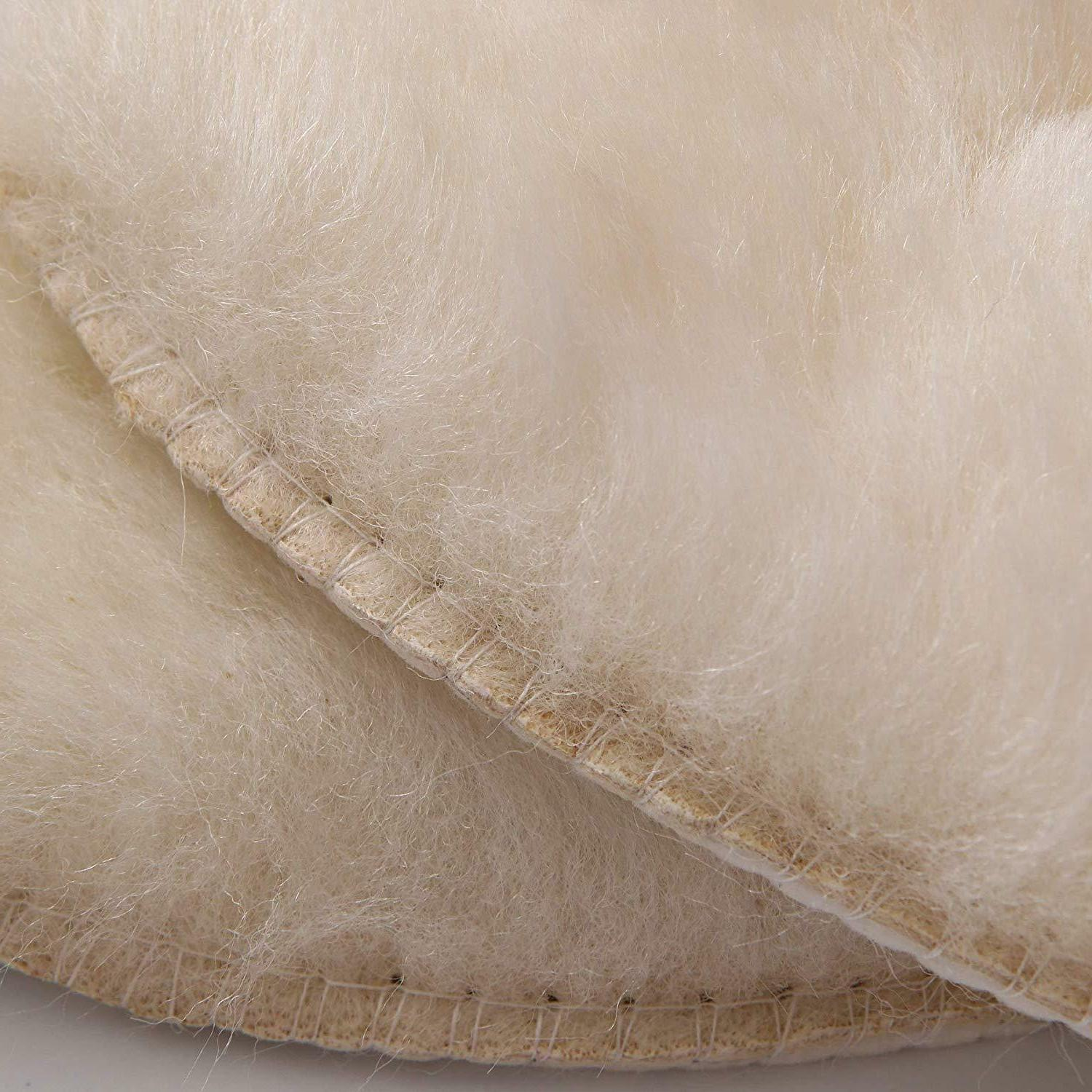 Hee Sheepskin Warm Thick Fur Cozy Shoes and Men