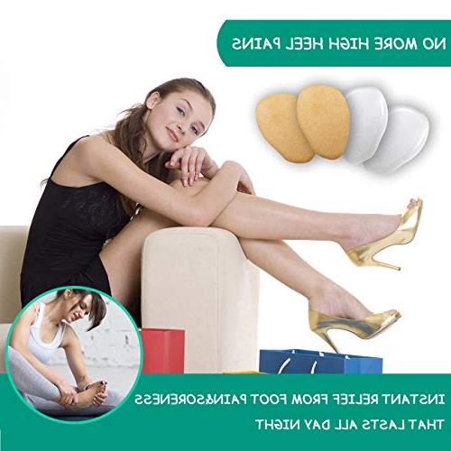 Heel Cushion Inserts Shoe High Inserts Women Pads for - of for Pain Neuroma,