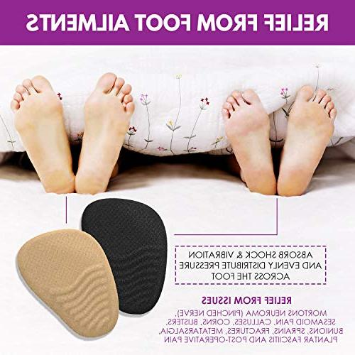 Heel Shoe Inserts - High Inserts Women - Pads for - of Pain Relief Bunions, Metatarsalgia