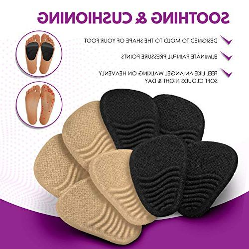 Heel Cushion Shoe Inserts Women - High Heel Women - for - of Foot Pain Relief from Neuroma, Bunions, and Metatarsalgia