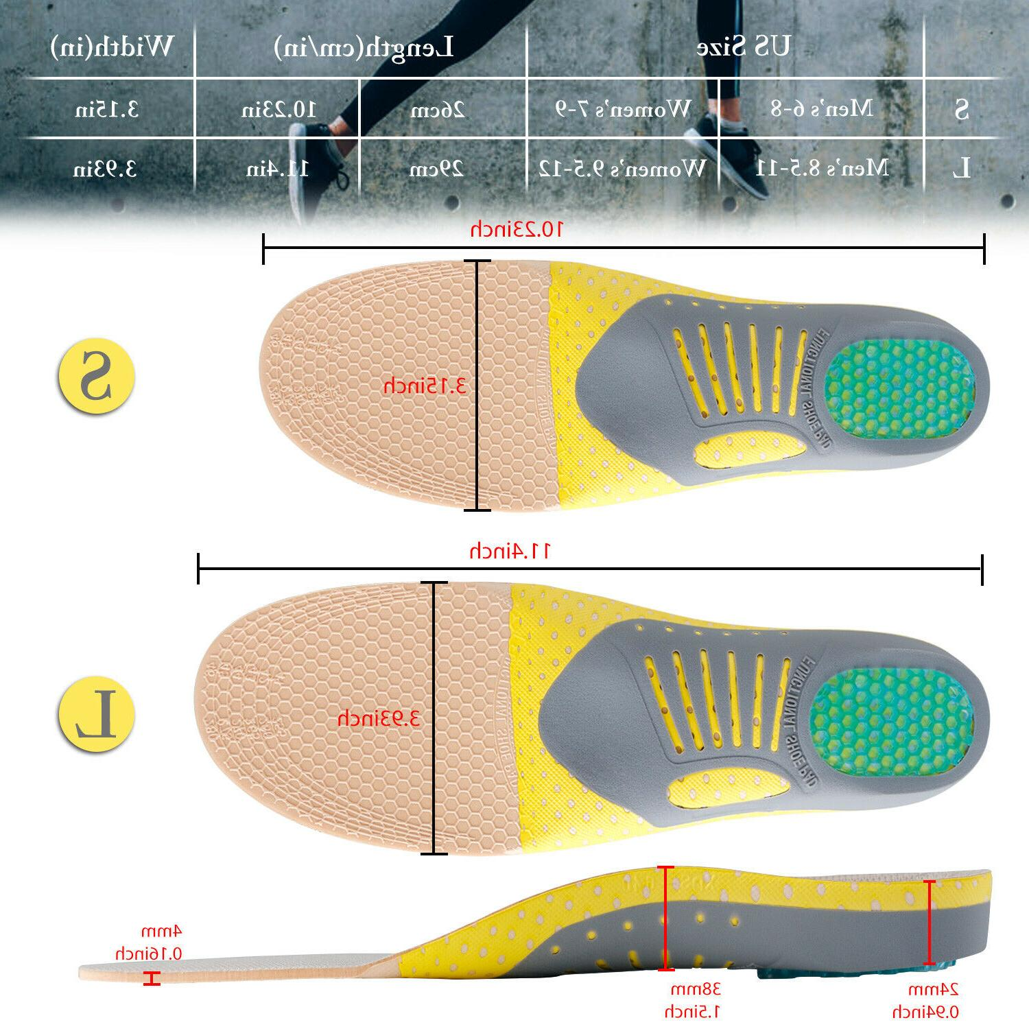 High Heel Orthotic Shoe Insoles Inserts Pads Foot