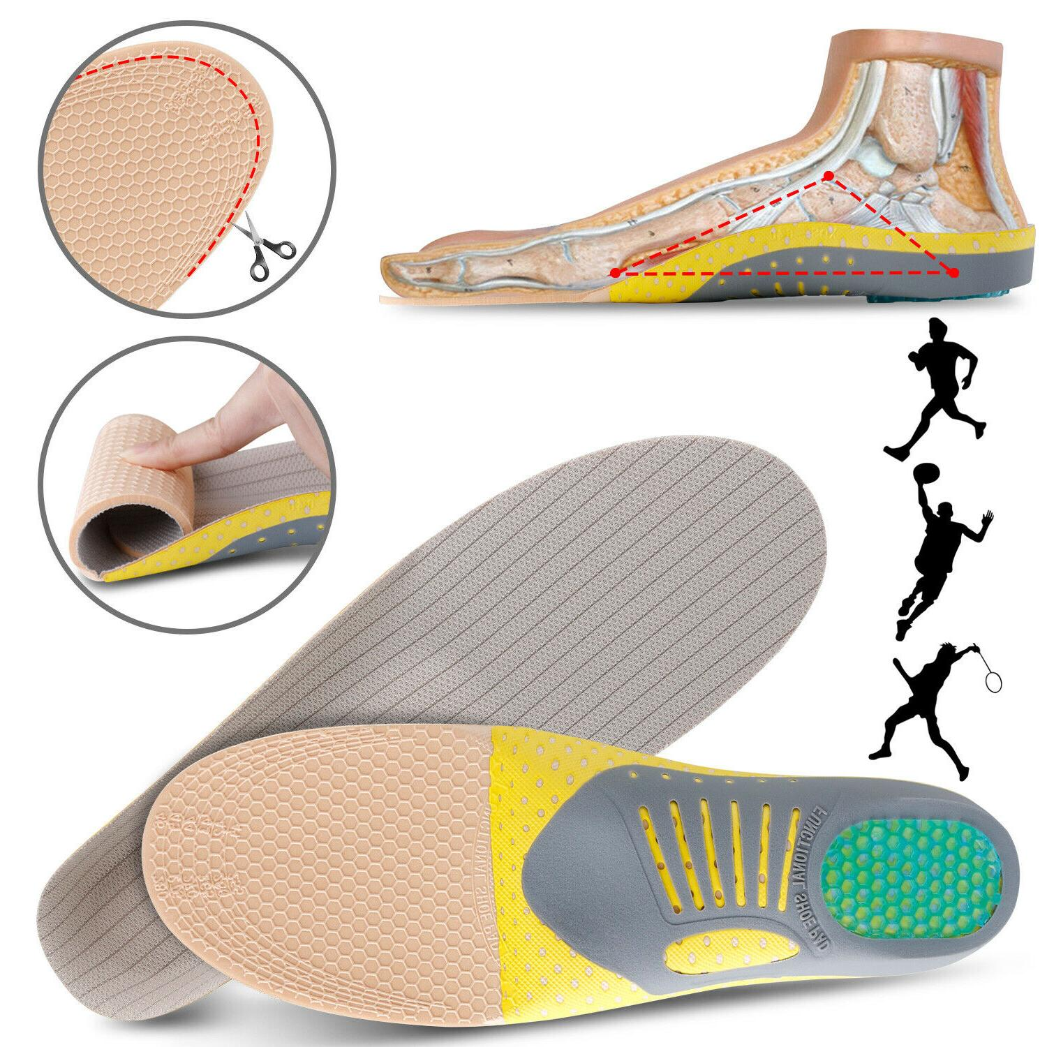 High Arch Support Orthotic Pads Flat Foot
