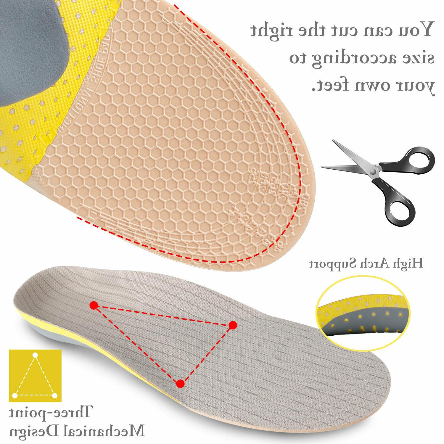 High Heel Orthotic Shoe Inserts Pads Foot