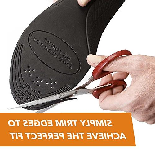 Insoles, Moisture Inserts Offer Support Foot Soreness,