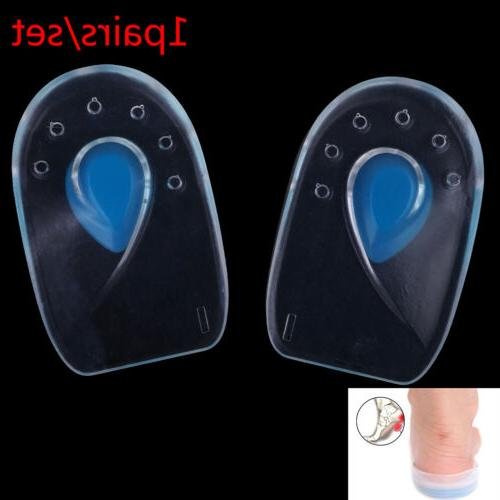 inserts heel pain spur silicone shoes gel