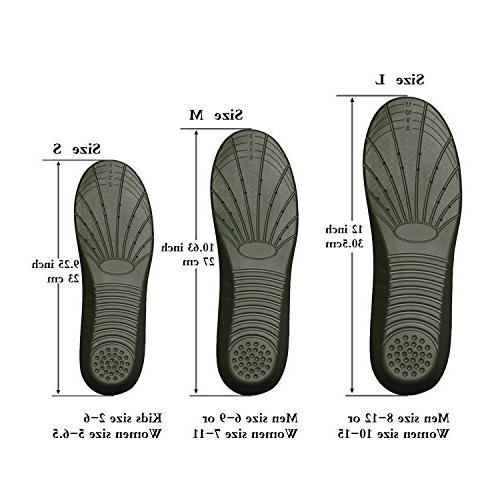 Shoe Arch support insoles, Foam Insoles Shock Absorption and for Feet Insoles Women for