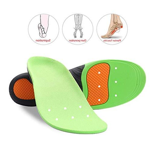 Snapsmile Shoes Insoles Men and Scientifically Proven Arch Inserts Inserts Super Support Men Women XS