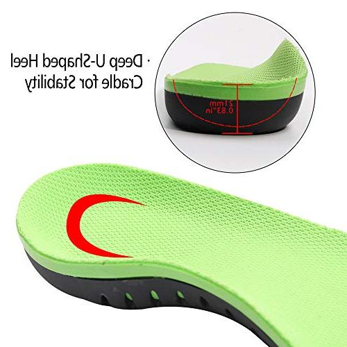 Snapsmile Shoes Scientifically High Arch Shoe Inserts Fasciitis Inserts Super Shoe Men Women -