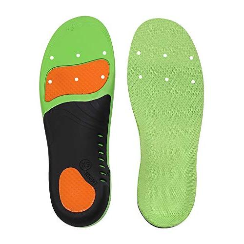Snapsmile Insoles Men - Scientifically Arch Support Shoe Inserts Plantar Super Support Men