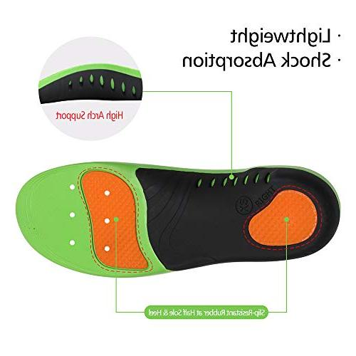 Snapsmile Shoes Insoles Men and - Scientifically Proven Arch Support Orthotic Inserts Plantar Fasciitis Men