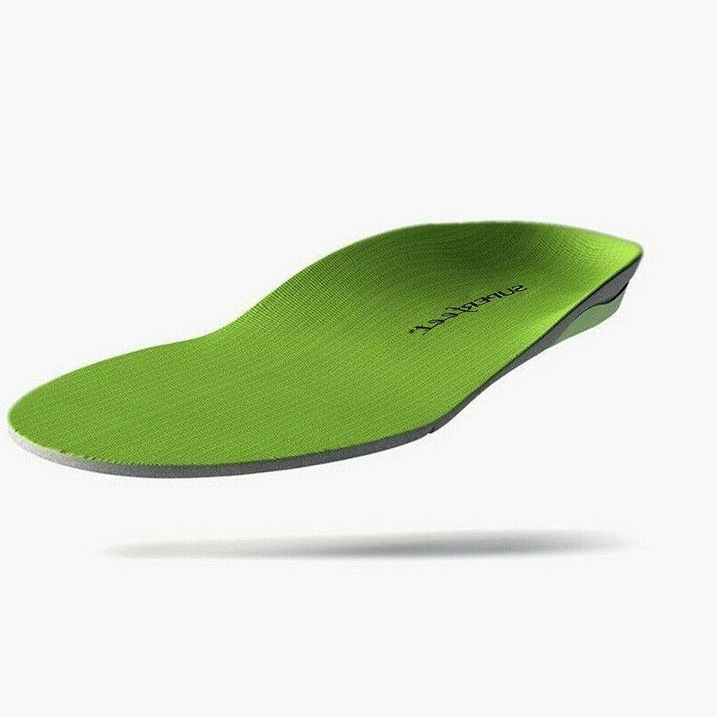 Superfeet Insoles Orthotics Inserts,Green,Sizes B,C,D,E,F-FREE SHIPPING