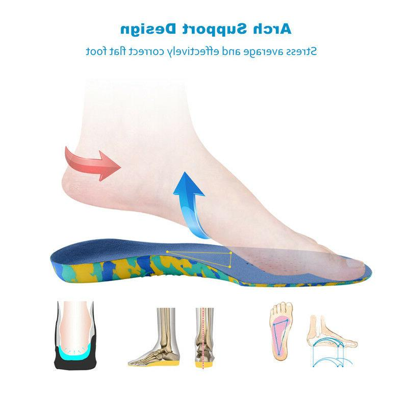 Kids Children Orthopedic Flat Arch Support Inserts
