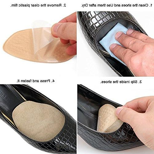 Medical Gel Forefoot of Foot Insoles Pads women shoe inserts for Pain Relief, . foot Golden Eagles