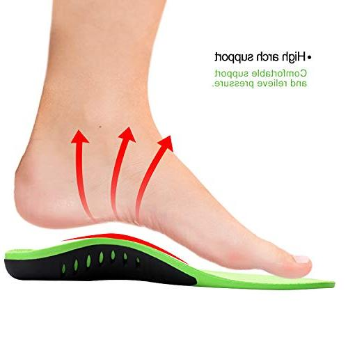 Snapsmile Medical Fasciitis Inserts Support Shoe Women Man Recommends Orthotic Plantar Fasciitis Arch Gel Flat