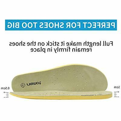 Men's Control Shoe Inserts Thick Inner Shoes
