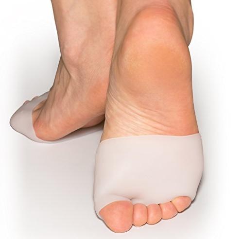 Metatarsal Pads Ball Foot Cushions Gel of Pads Mortons Callus Metatarsal Pain Relief Bunion Forefoot Relief Women
